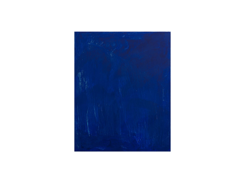 Jordan Spedding   Blue , 2015 oil on canvas 75 x 60cm   ARTIST BIO