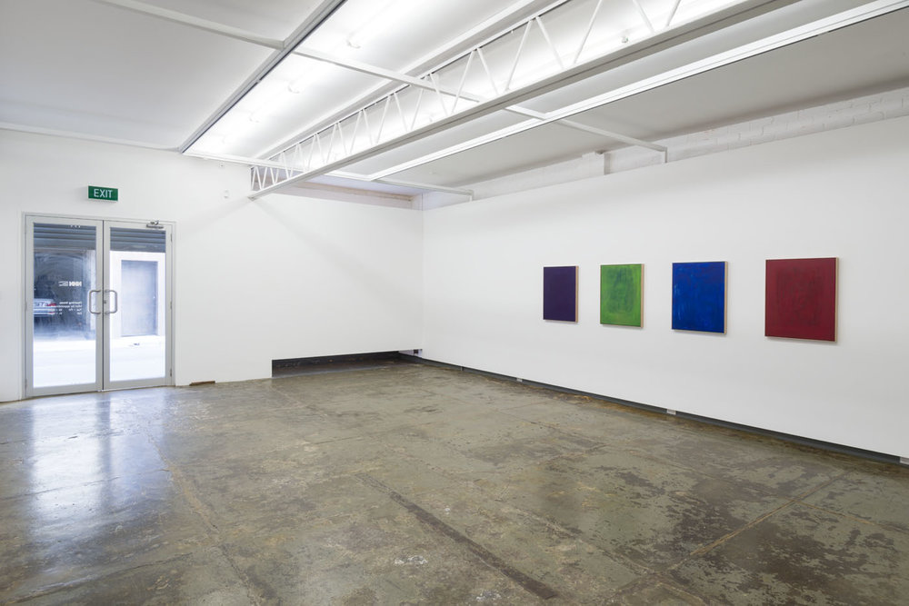 Jordan Spedding   New Paintings  Installation Image   ARTIST BIO