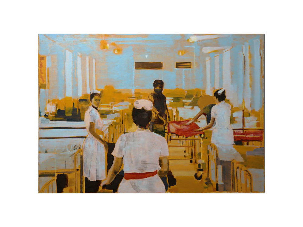 Peter Westwood  Poor Hospital Passage  Artwork   ARTIST BIO