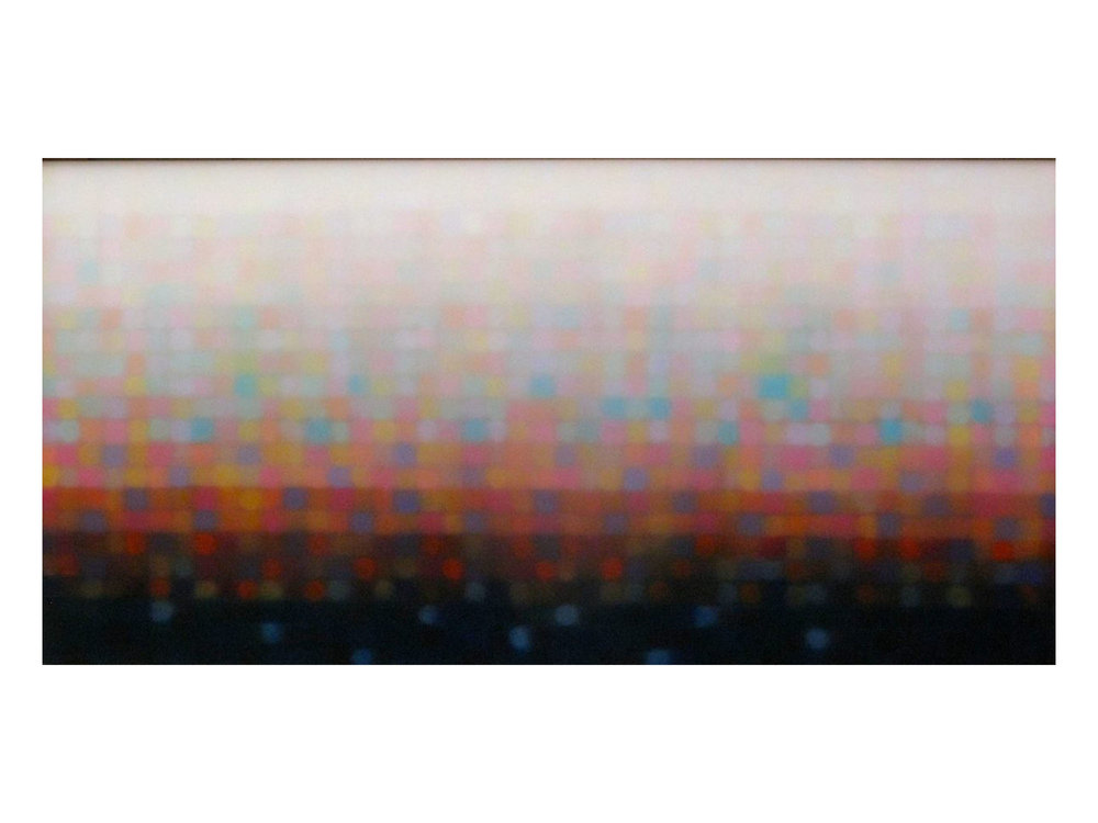 """Matthew Johnson   """"After Sun III"""", 2014 Oil on linen 900 x 1800 mm   ARTIST BIO"""
