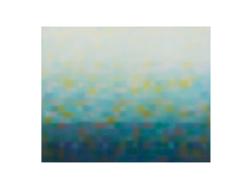Matthew Johnson   Light Diminishment III  oil on linen 56 x 45cm   ARTIST BIO