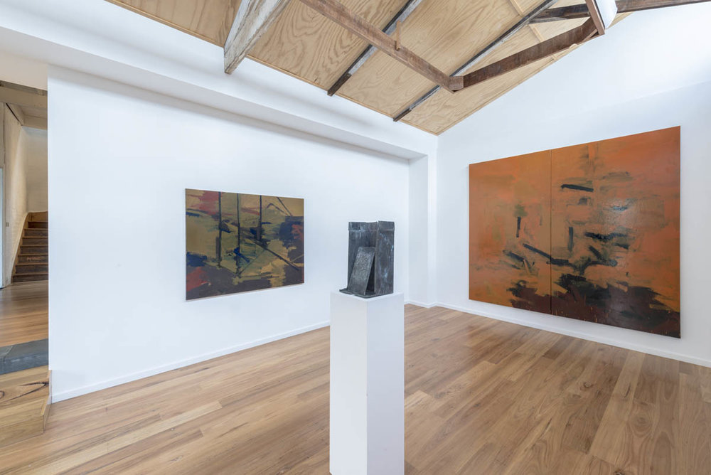 James Claydon   Recent Paintings & Sculptures  Installation Images   ARTIST BIO