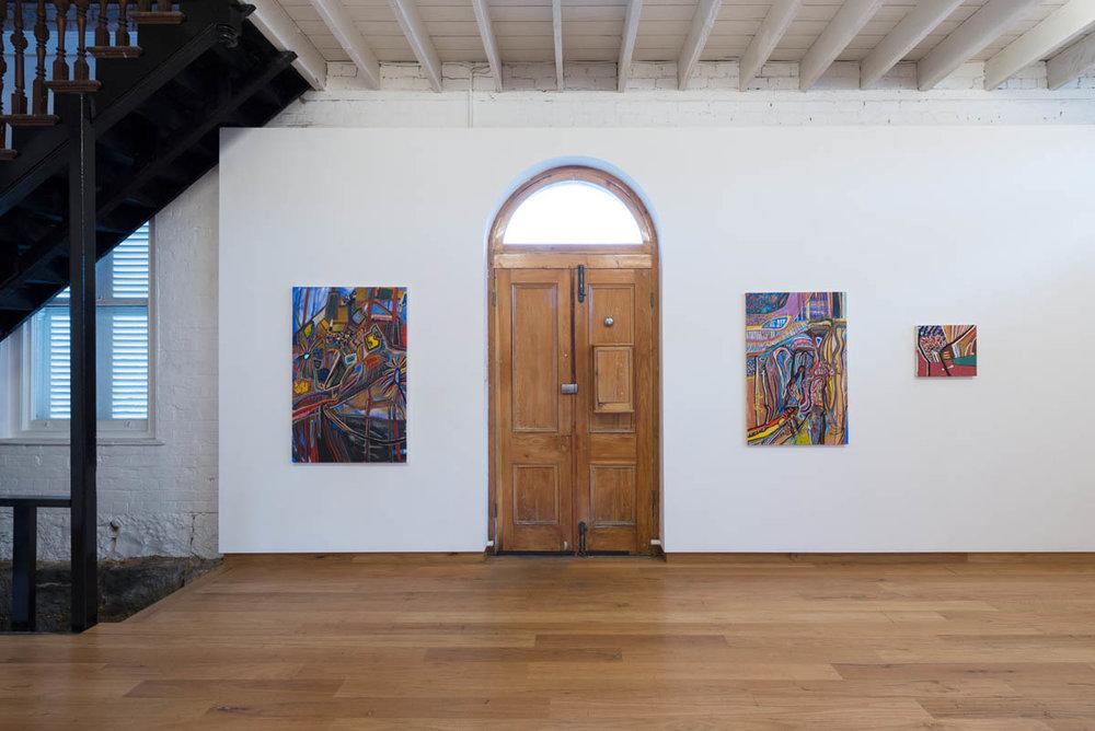 Mary Barton   Tandoori Turquoise and Mulberry Mauves   ARTIST BIO