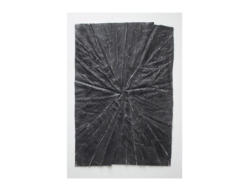 Brett McMahon   Taman Bahagia 9 , 2017 gesso, acrylic and enamel on paper 150 x 102cm   ARTIST BIO