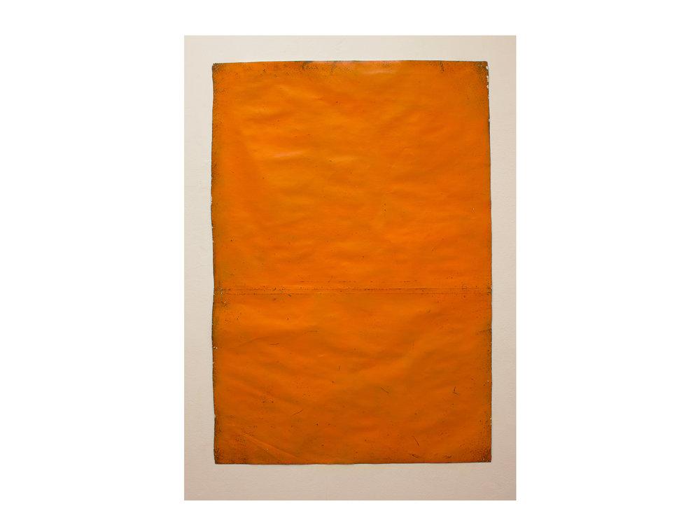 Brett McMahon   Taman Bahagia 12 , 2017 gesso, acrylic and enamel on paper 150 x 102cm   ARTIST BIO