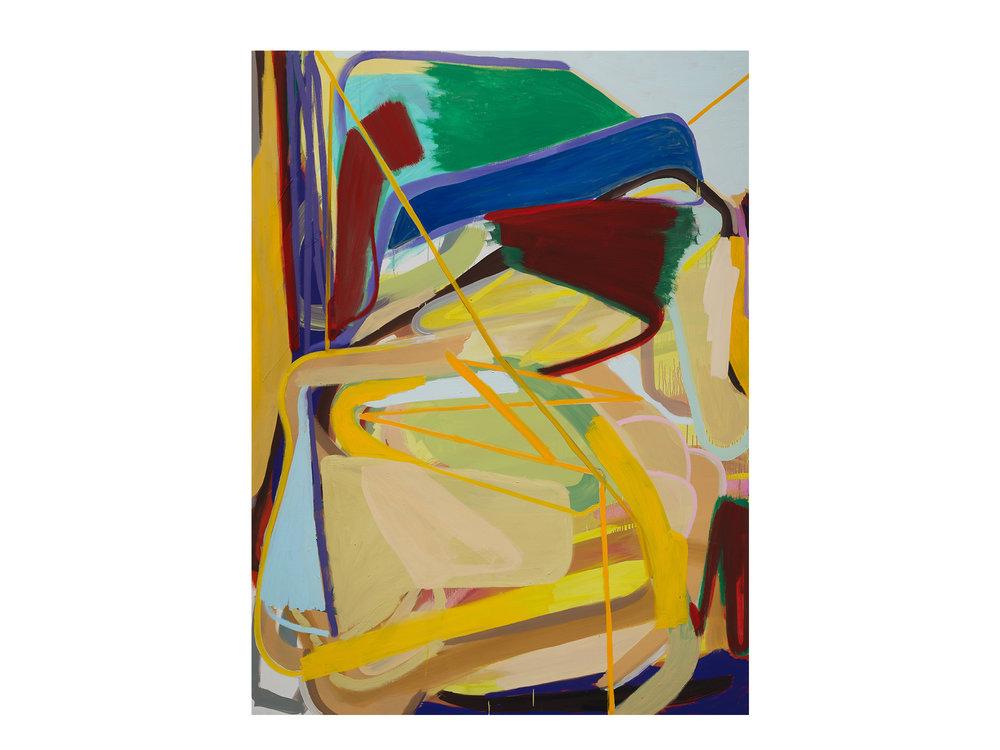 Julia Powles   Dear Richard , 2017 oil on canvas 188 x 139cm   ARTIST BIO