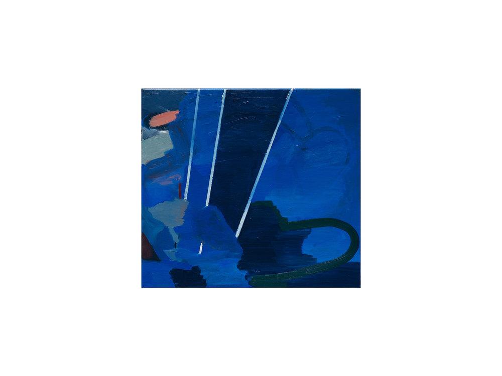 Julia Powles   You Radiate Light , 2017 oil on canvas  51 x 57cm   ARTIST BIO
