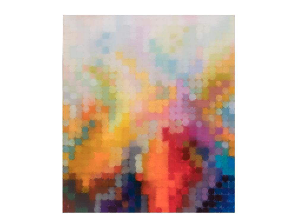 Matthew Johnson   Ara I , 2017 oil on linen 150 x 130cm   ARTIST BIO