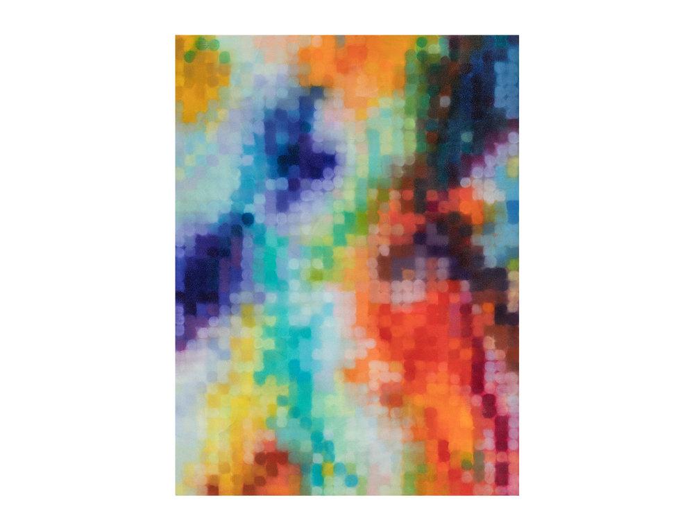 Matthew Johnson   Pharos , 2017 oil and glass microspheres on linen 244 x 182cm  ARTIST BIO
