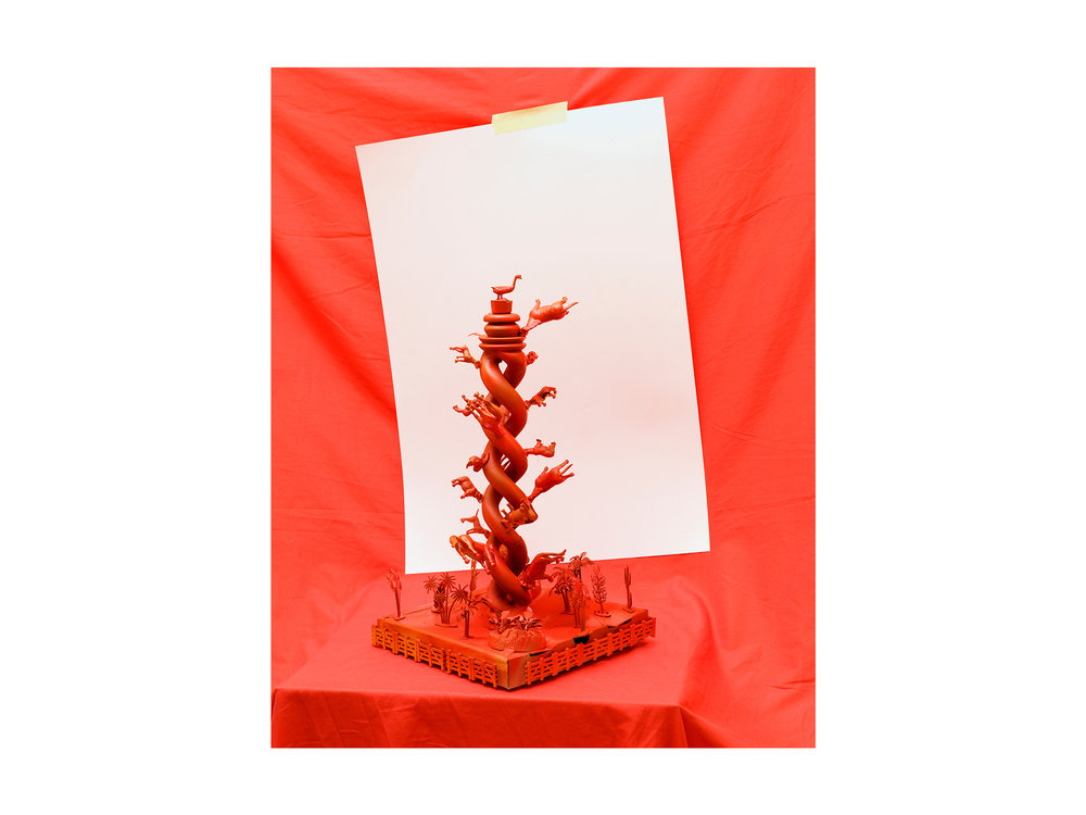 Kieren Seymour   Meat in Plant DNA , 2018 photograph on archival rag 111 x 93cm   ARTIST BIO