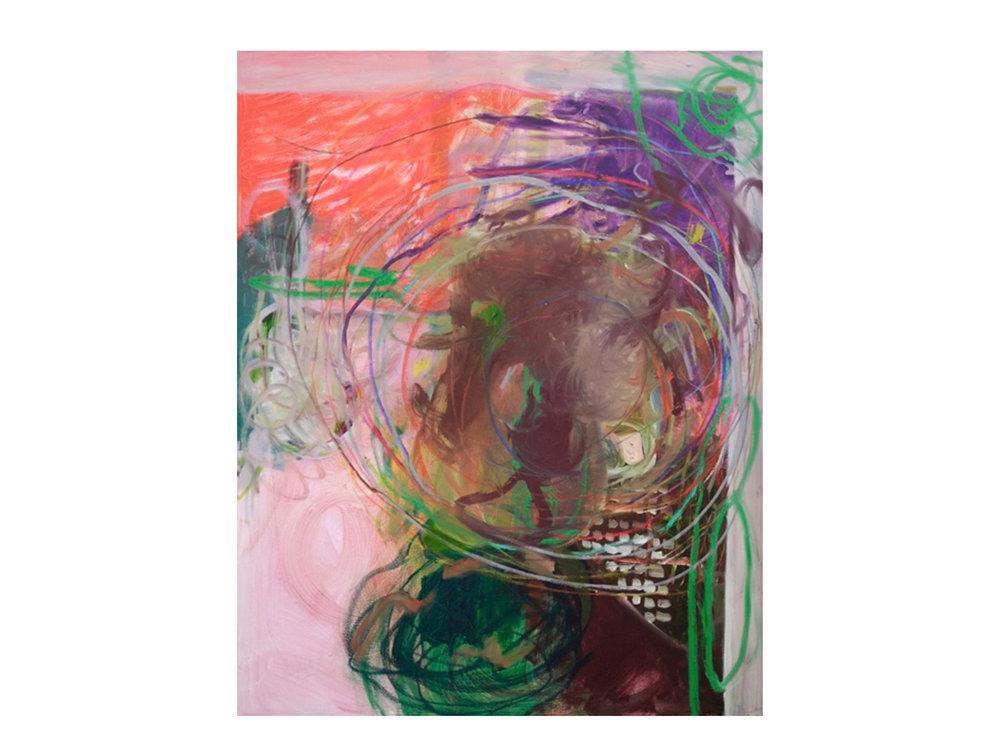 Georgia Biggs   Stop It! Just Wait.,  2017 oil on canvas 152 x 122cm   ARTIST BIO