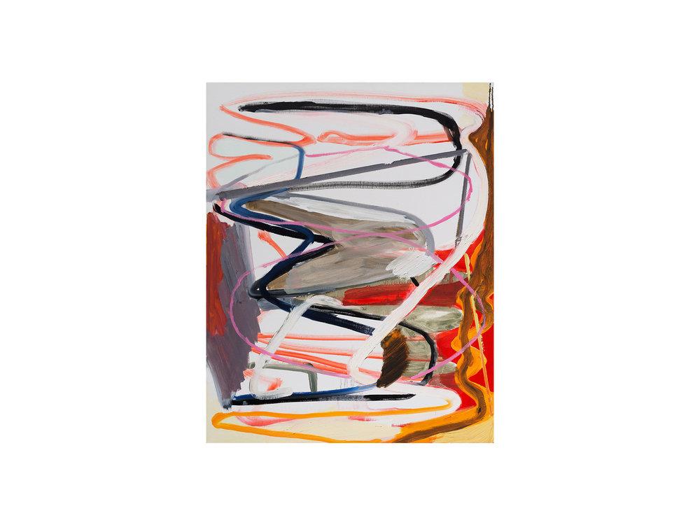 Julia Powles   Walking with the Boys,  2018 oil on linen 76 x 61cm   ARTIST BIO
