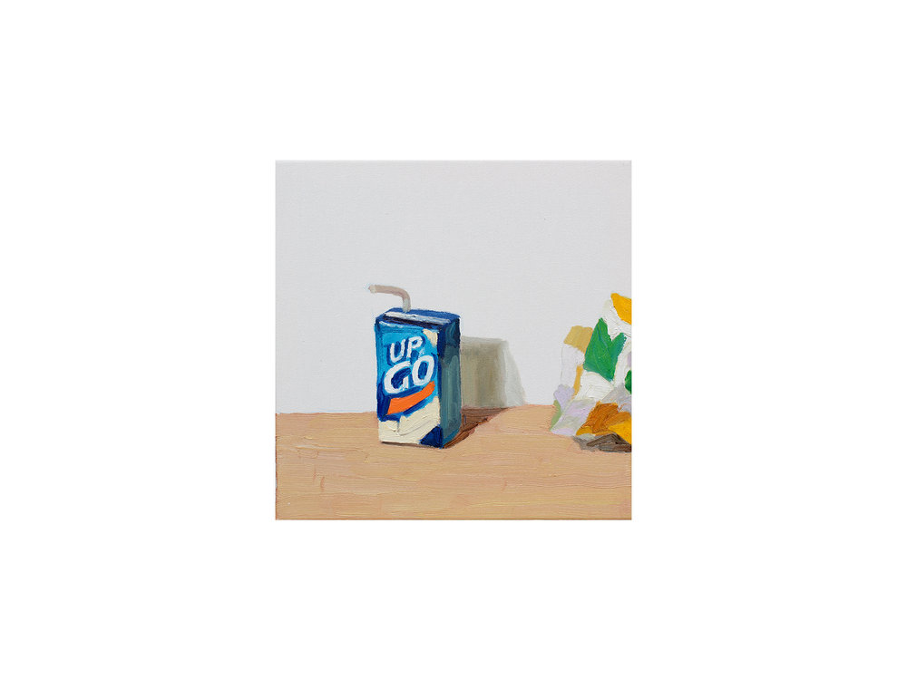 Zai Kuang   Basic Food #2,  2018 oil on canvas 30 x 30cm   ARTIST BIO