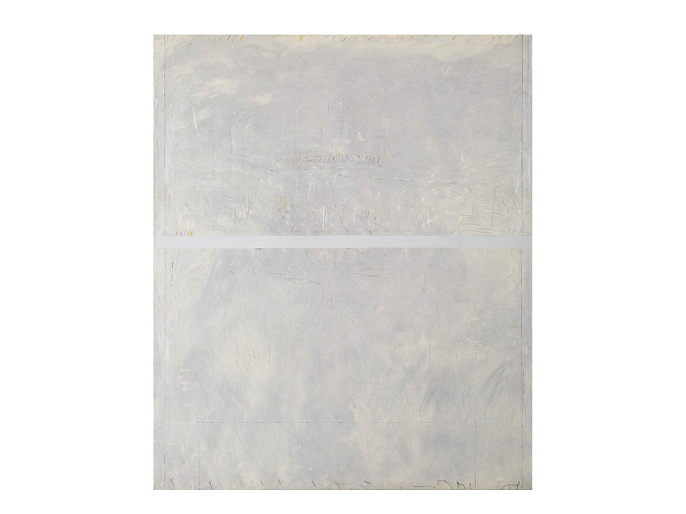 Alan Mitleman   Untitled , 1977 oil on canvas 183 x 152.5cm