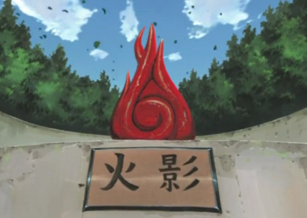A physical representation of the Will of Fire in the  Naruto  series.