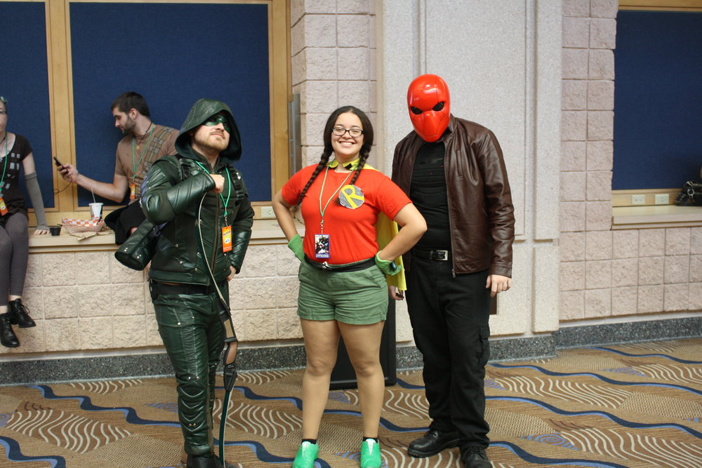 The Arrow, Redhood, and Robin