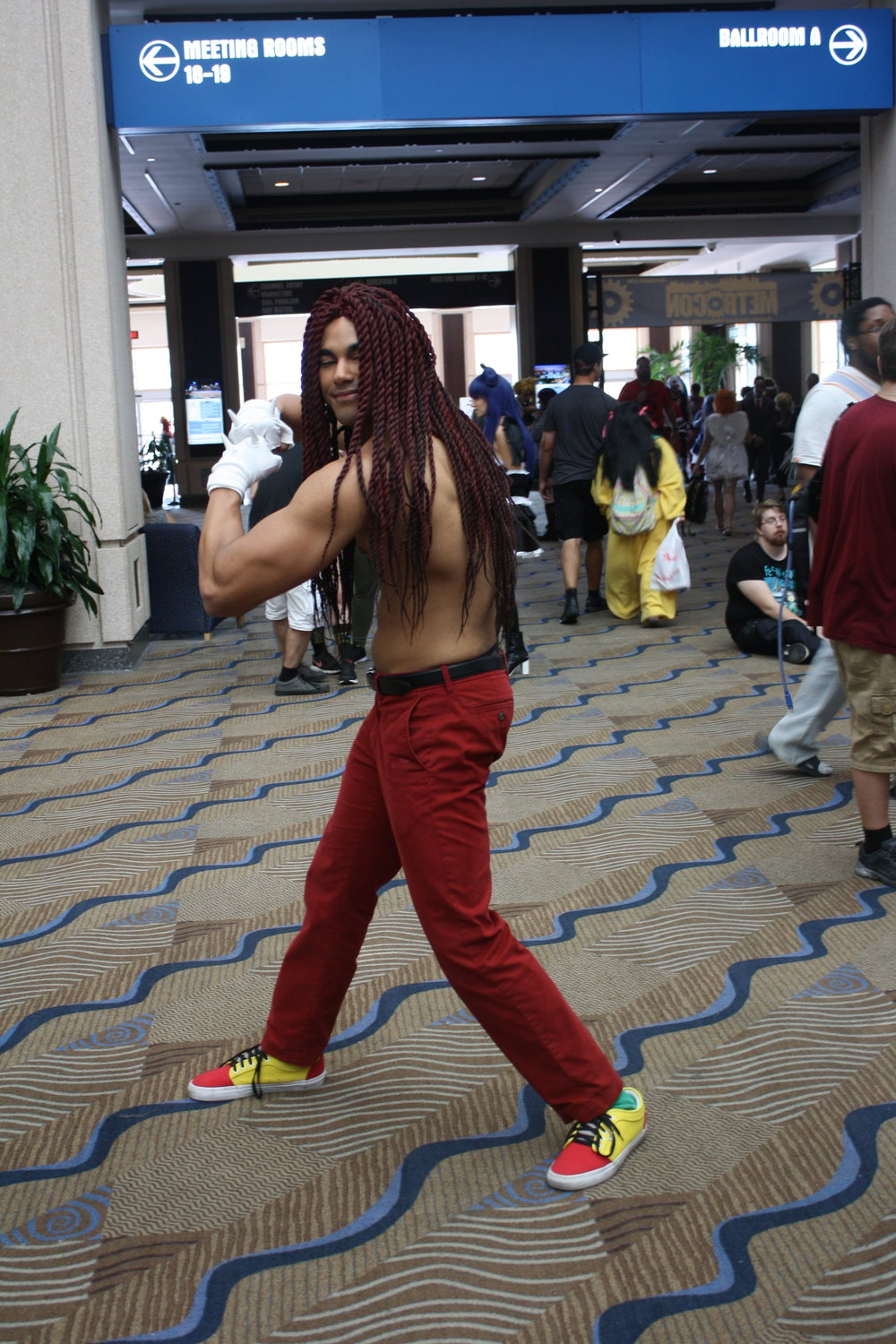 Knuckles the Human (Sonic the Hedgehog)