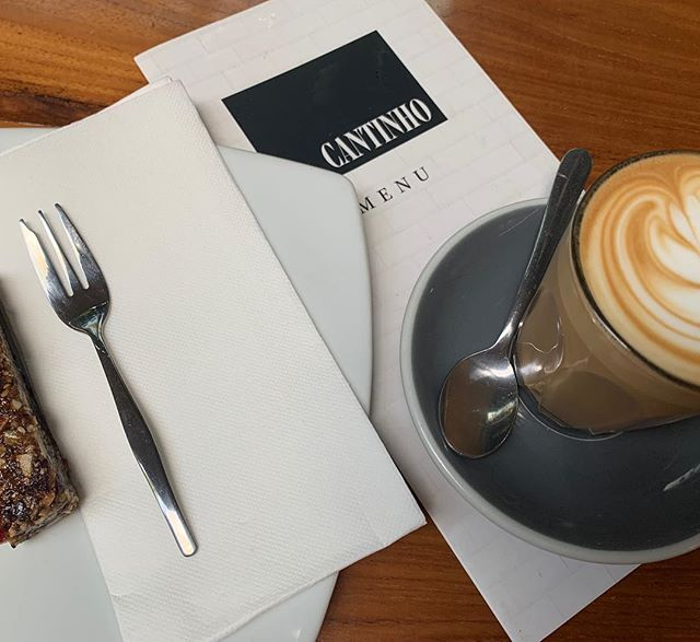 Morning ☀️ Starting our day off right thanks to our cheery neighbours @cantinhocafe ☕️ #cawfeeplease
