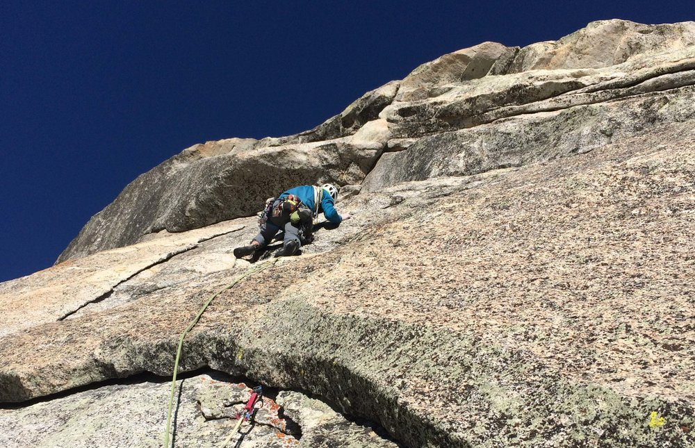 The Vampire, Tahquitz Rock Climbing, Golden State Guiding Ambassadors