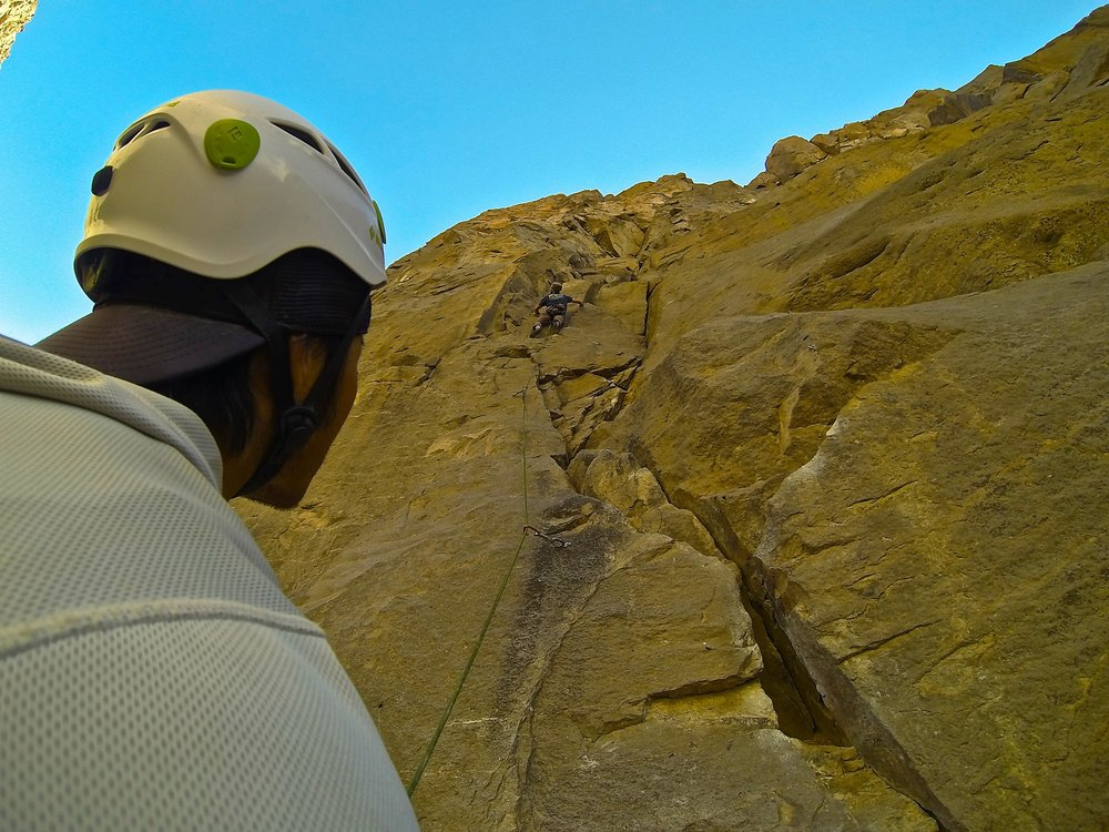 Golden State Guiding Rock Climbing Owens River Gorge