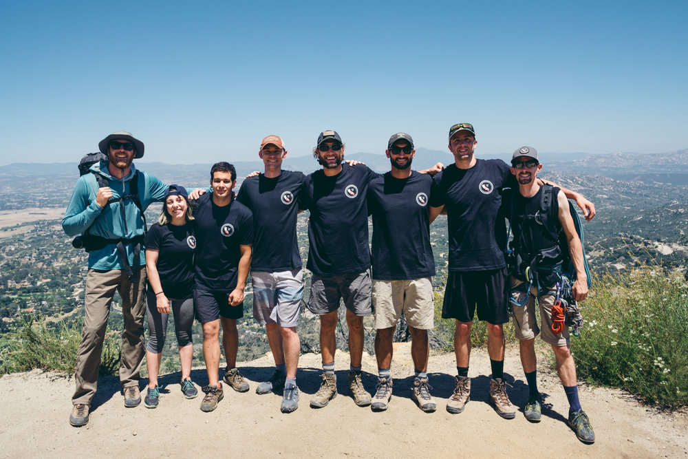 Golden State Guiding Mt. Woodson Rock Climbing Southern California Gym to Crag