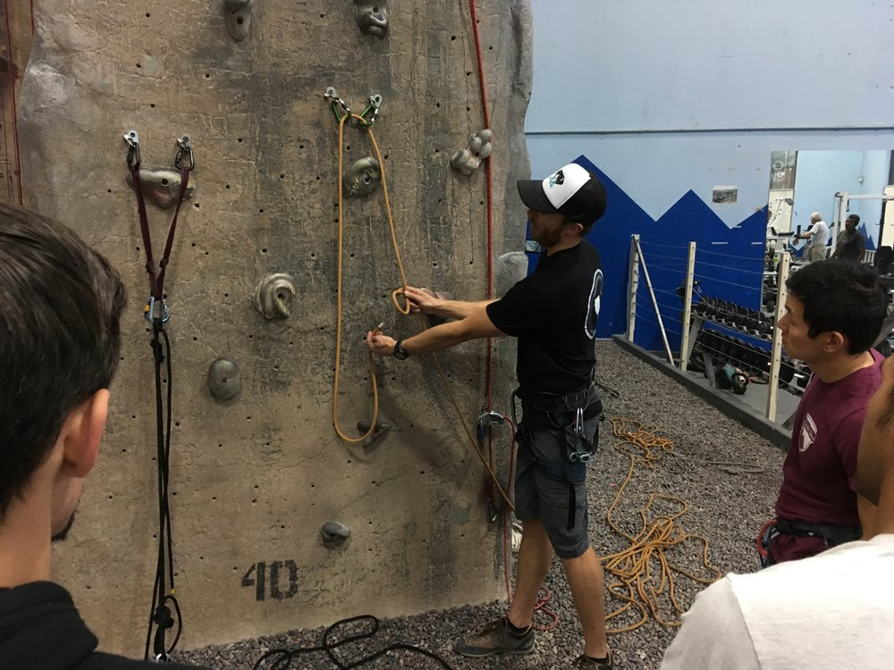 Knots & Hitches Clinic Rock Climbing Outdoors San Diego