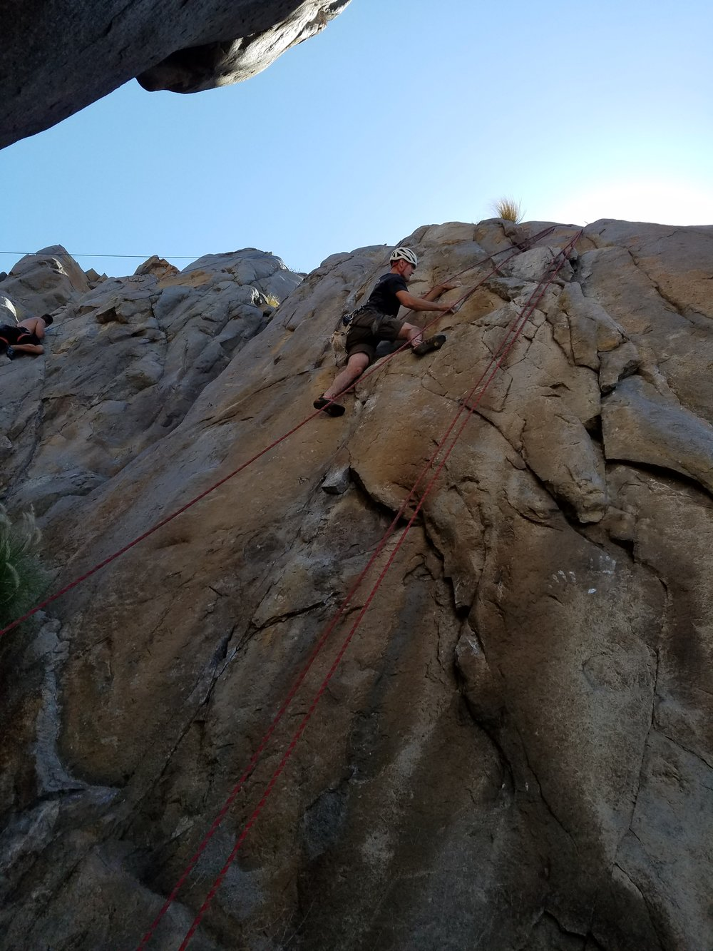 Mission Gorge Rock Climbing San Diego