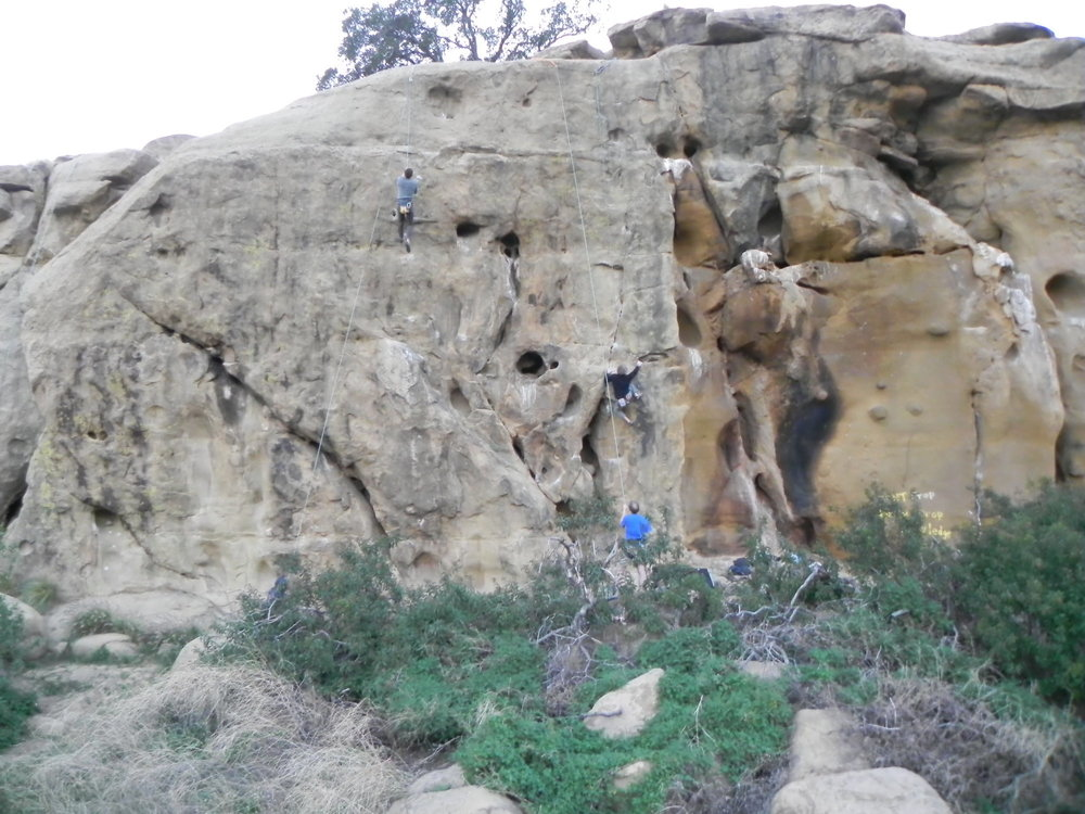 Stoney Point Rock Climbing, Los Angeles California