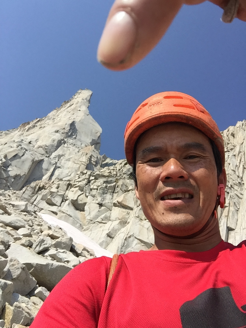 Kelvin Nguyen, Third Pillar of Dana, Tuolumne Meadows, Yosemite, CA