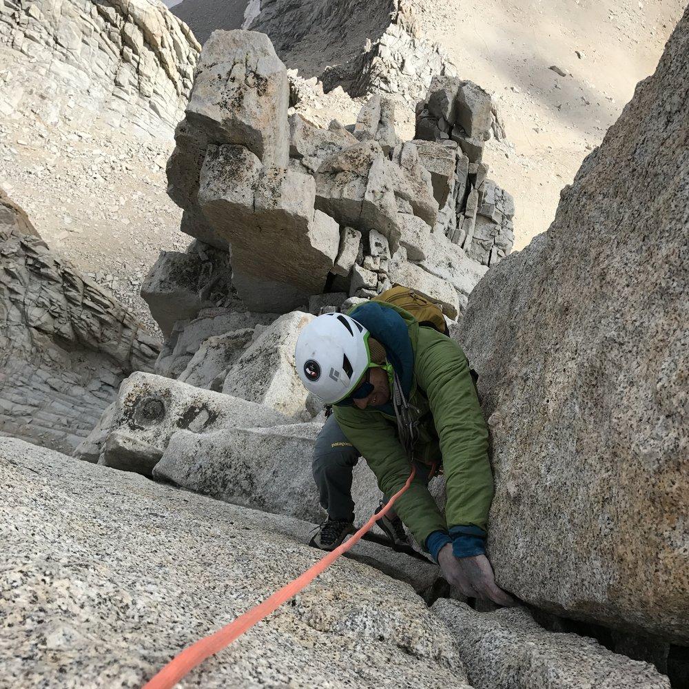 Fishook Arete, Mount Russell Sierra Climbing