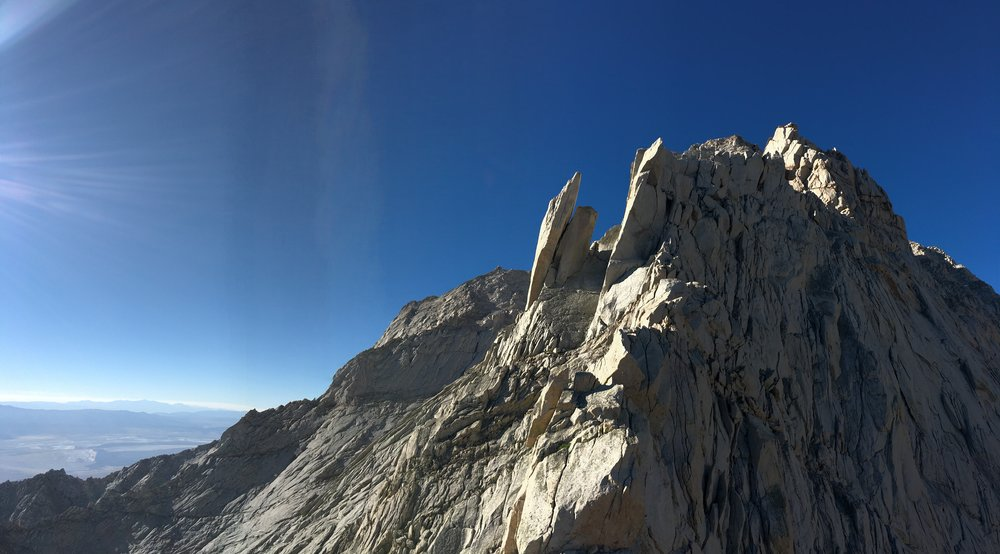 North Ridge of Lone Pine Peak Alpine Climbing