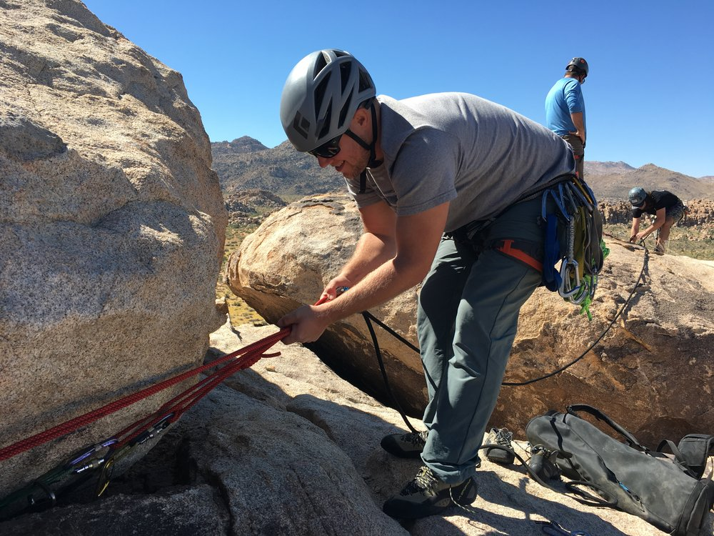 Advanced Anchors Clinic (Joshua Tree Systems) San Diego