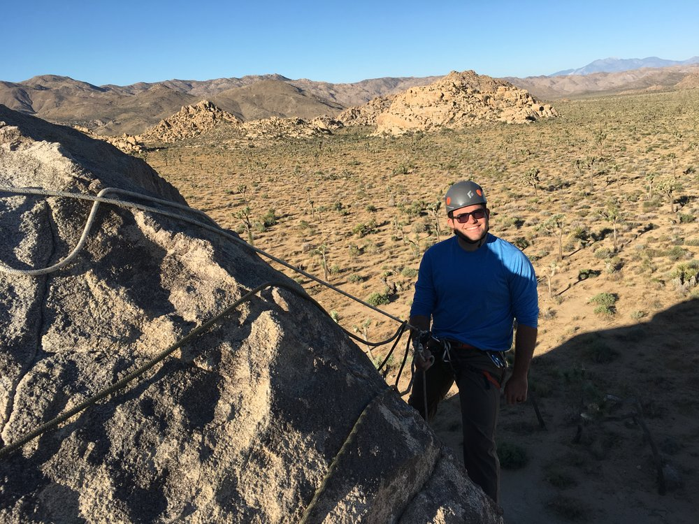 Joshua Tree Rock Climbing, Southern California