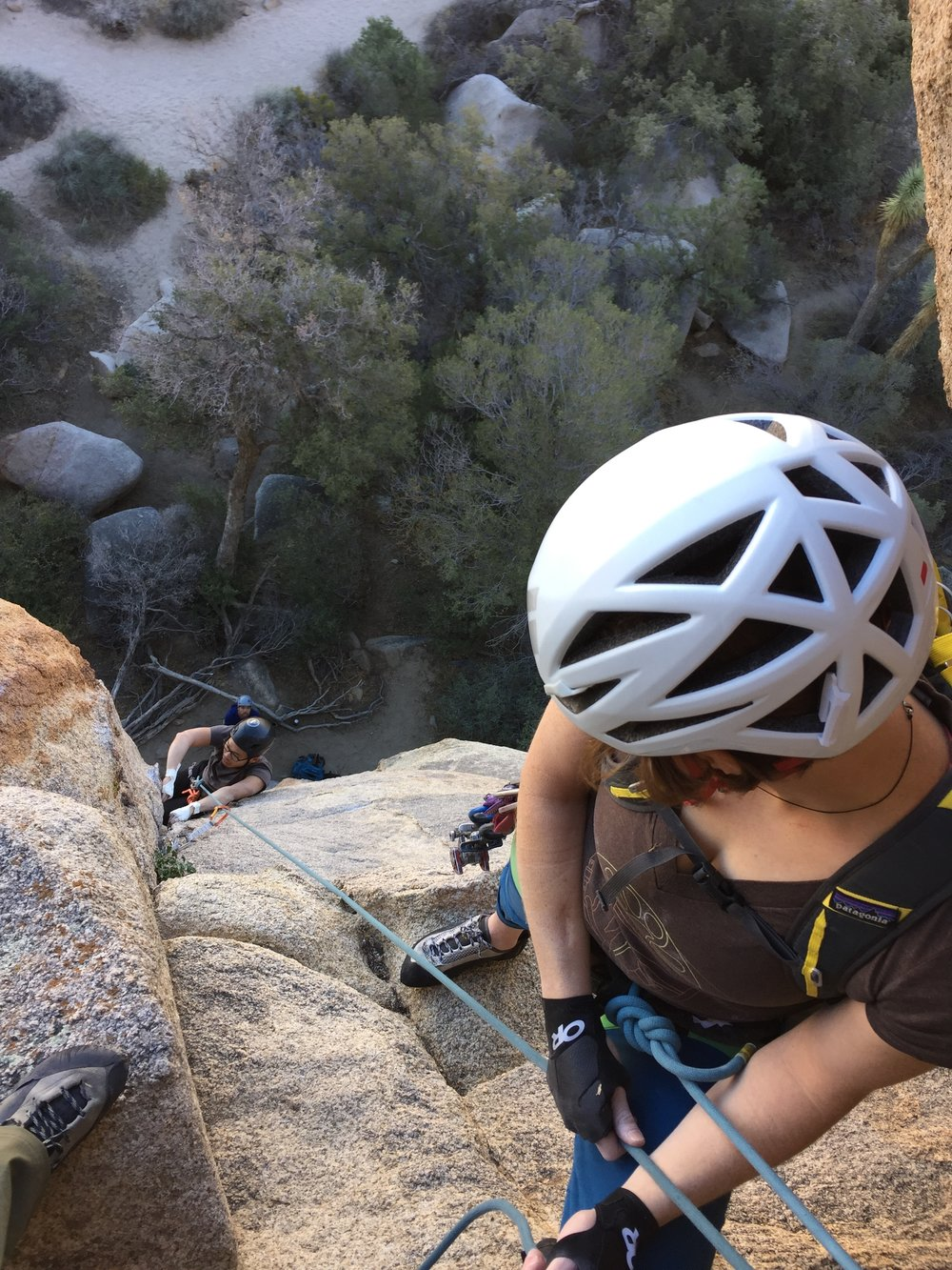 Joshua Tree Multi Pitch Climbing