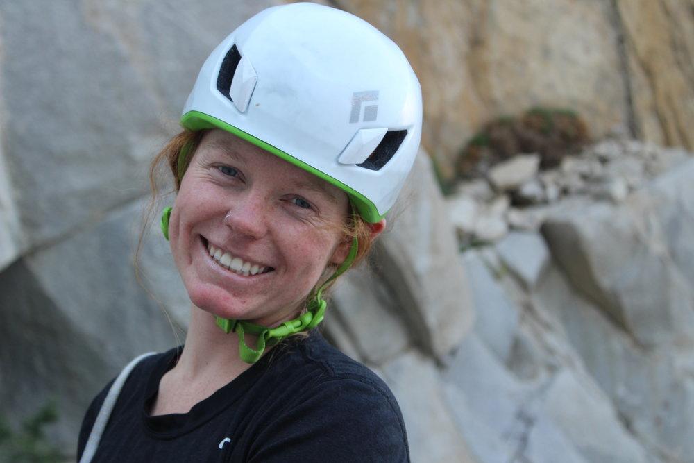 Lauren Breitenbach Golden State Guiding Rock Climbing Guide