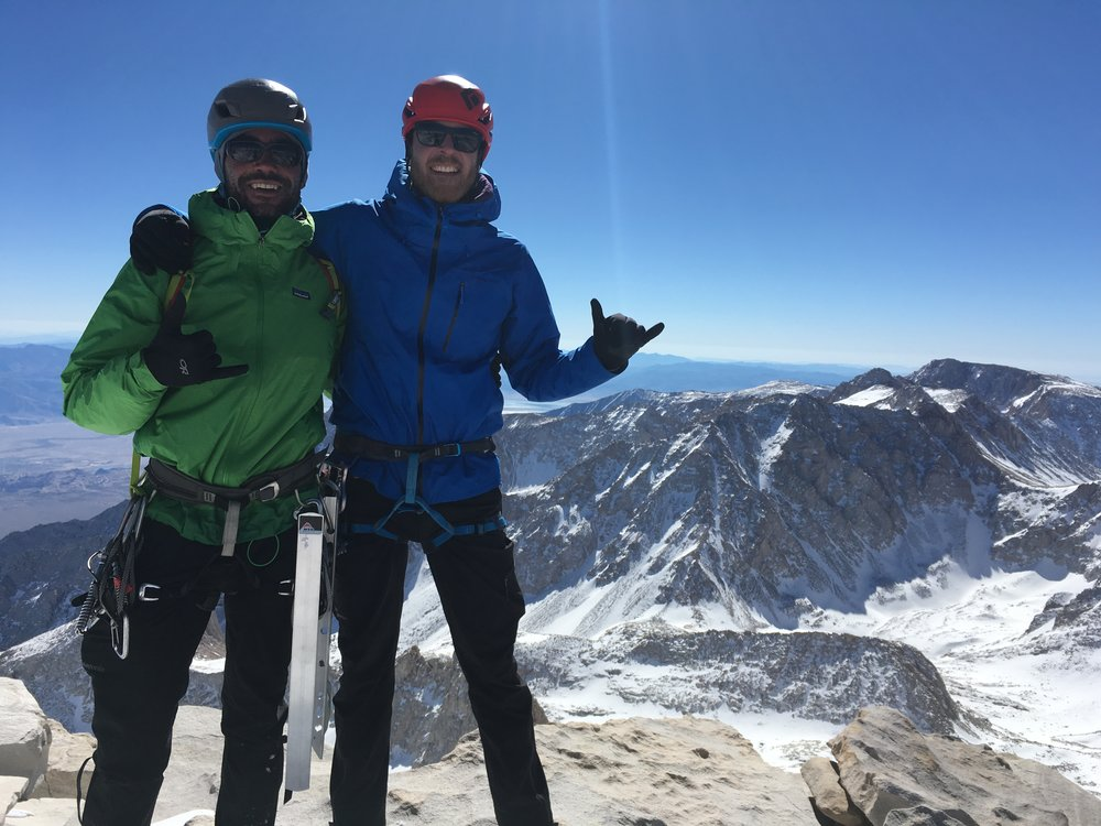 Mt. Whitney Mountaineers Route, Sierra Nevada