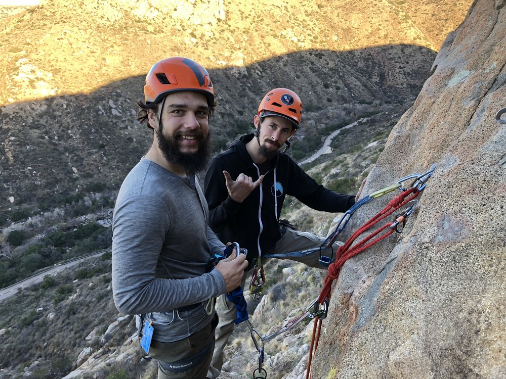 Rappelling Mission Gorge