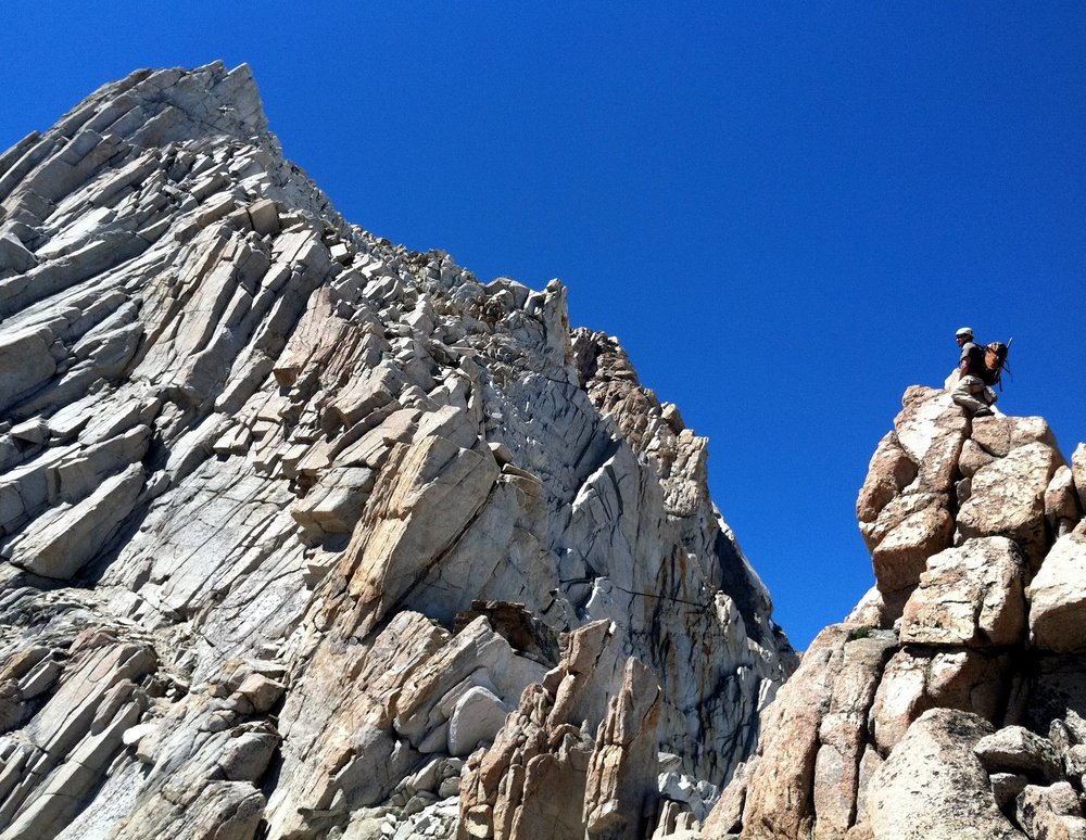 Mount Humphreys East Ridge Arete Eastern Sierra Alpine & Rock Climbing