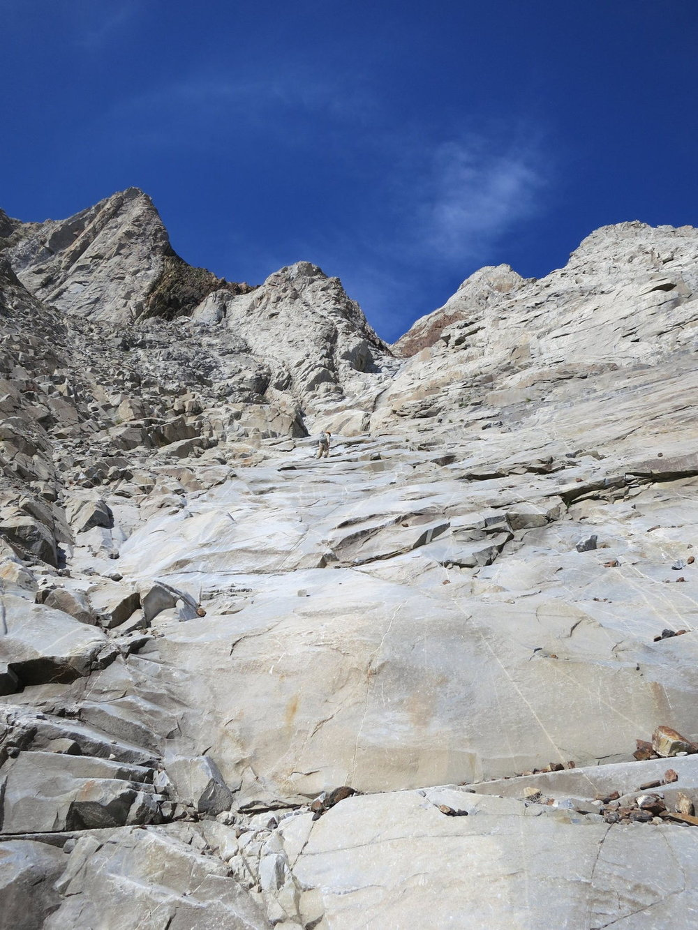 Laurel Mountain Mendenhall Couloir Eastern Sierra