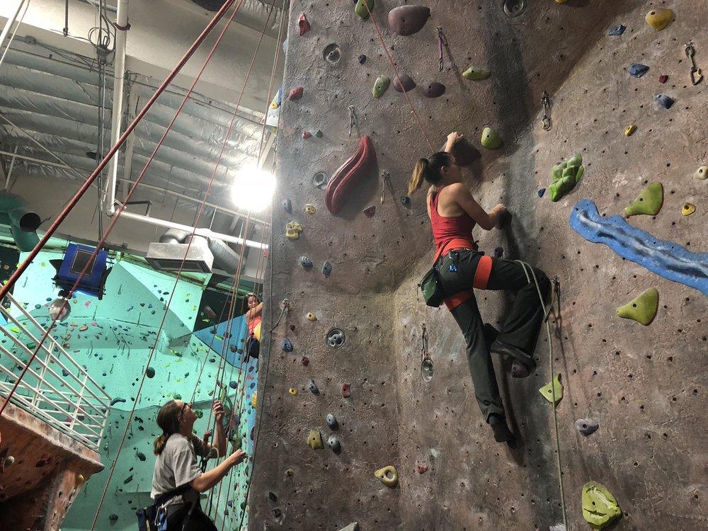 Lead Climbing Clinic San Diego
