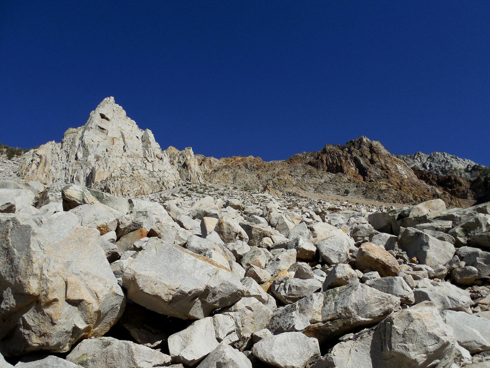 Cardinal Pinnacle Rock Climbing Eastern Sierra