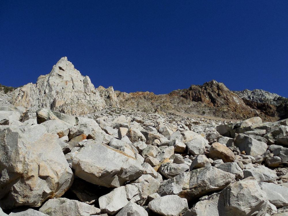 Cardinal Pinnacle Rock Climbing Eastern Sierra