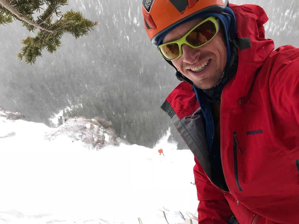Jonathan Wachtel Ice Climbing