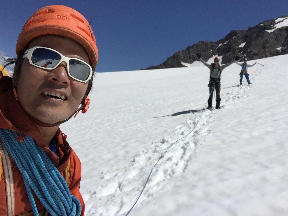 Kelvin Nguyen Liberty Ridge Mount Rainier Climbing