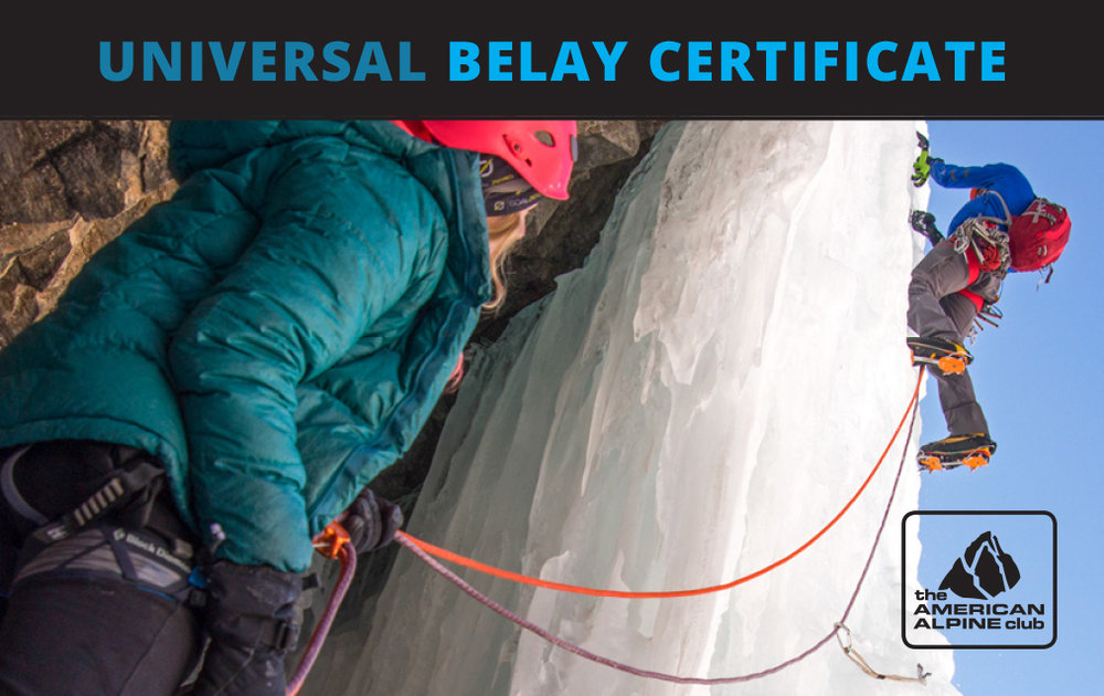 American Alpine Club Universal Belay Card