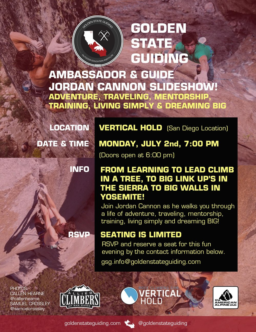 Golden State Guiding Ambassador & Guide Jordan Cannon Slideshow