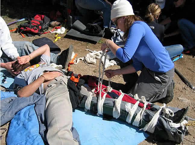 Wilderness First Responder Course San Diego
