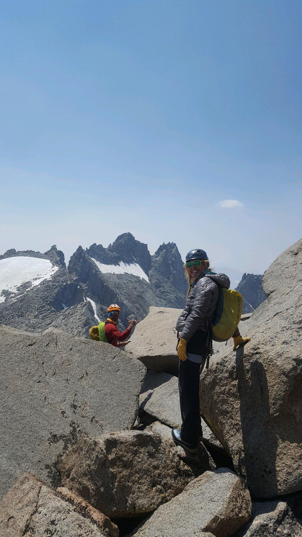 Eastern Sierra Alpine Climbing Mount Sill Swiss Arete