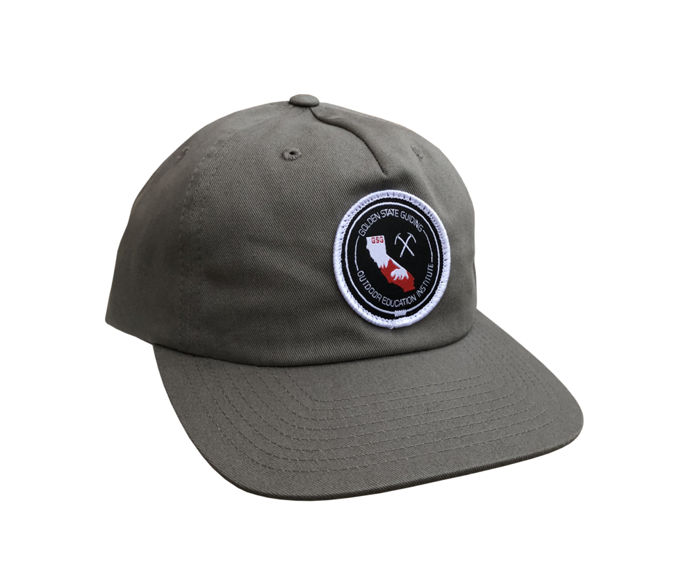 Golden State Guiding Strapback Hat Grey — Golden State guiding 3567470b055