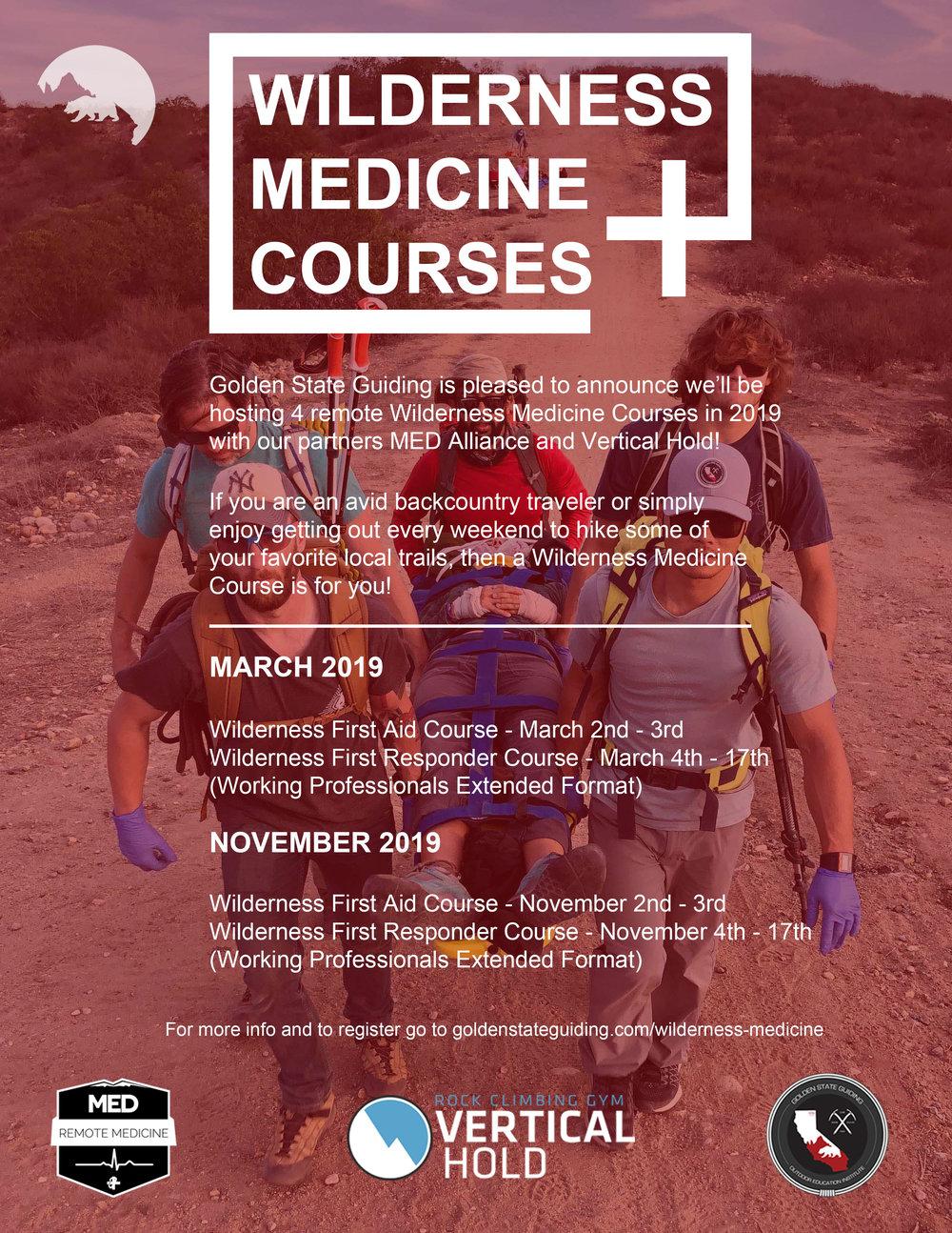 Wilderness First Responder Courses